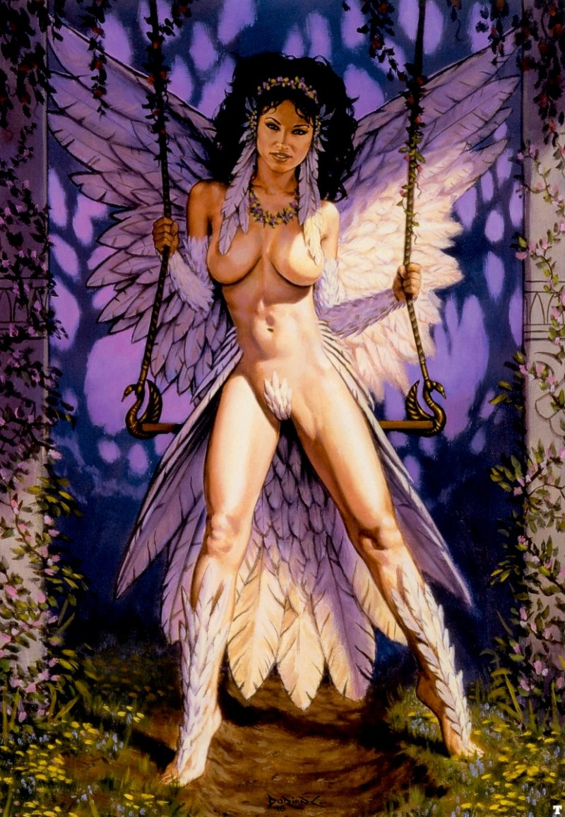 Nude angel and demon fantasy art galleries erotic photo