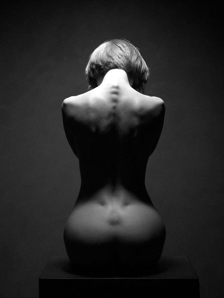 черно белые фото женщин голых